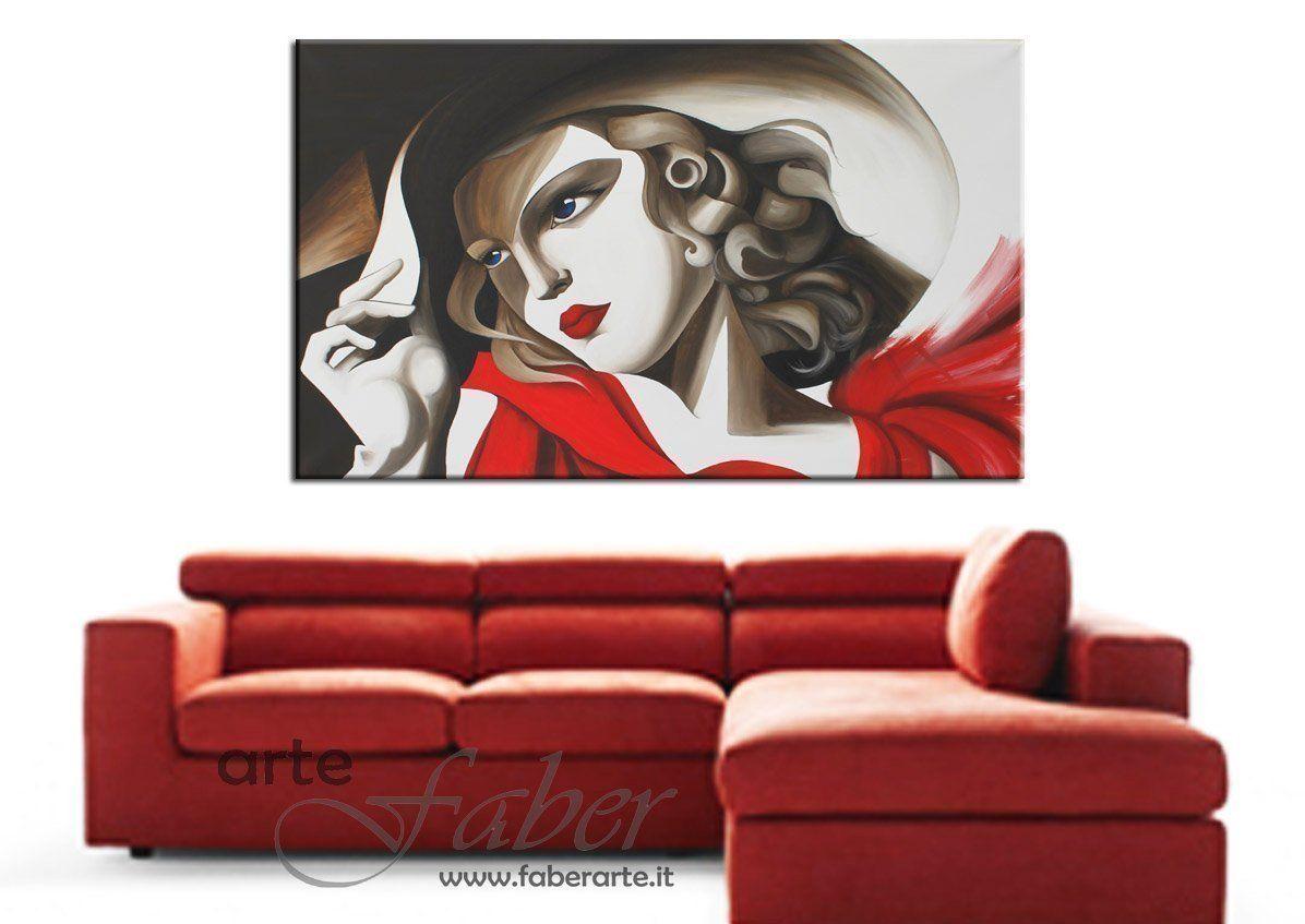 quadri moderni astratti dipinti a mano