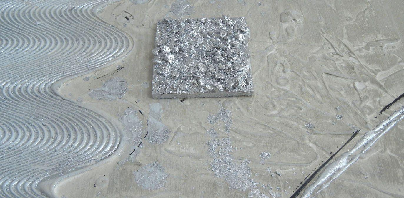 Quadri Materici Con Stucco