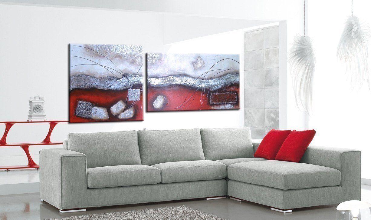 quadri astratti rossi
