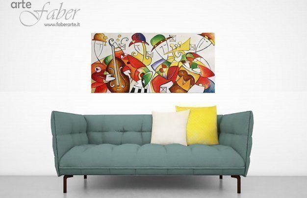 Quadri astratti moderni colorati