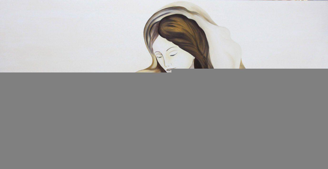 capezzali moderni dipinti
