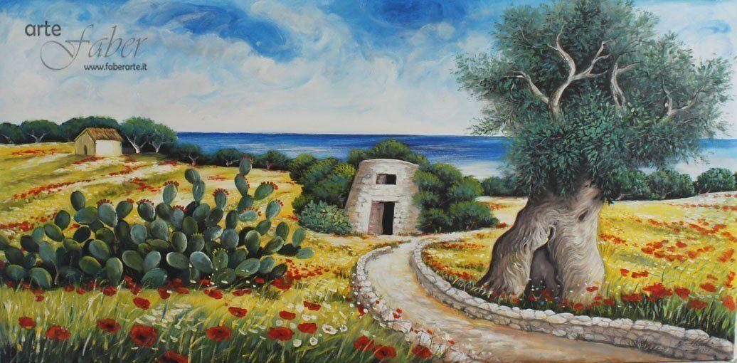 quadri paesaggi salento