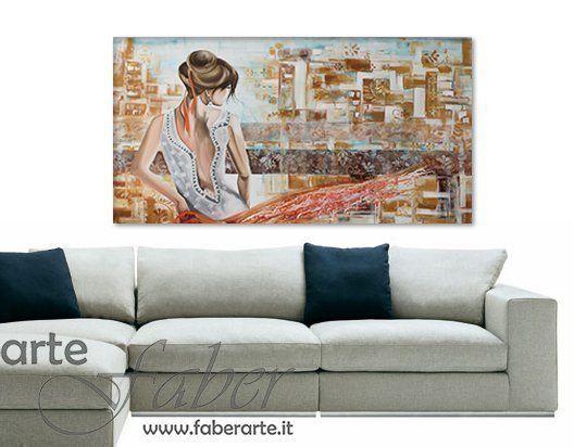 quadri astratti con donne
