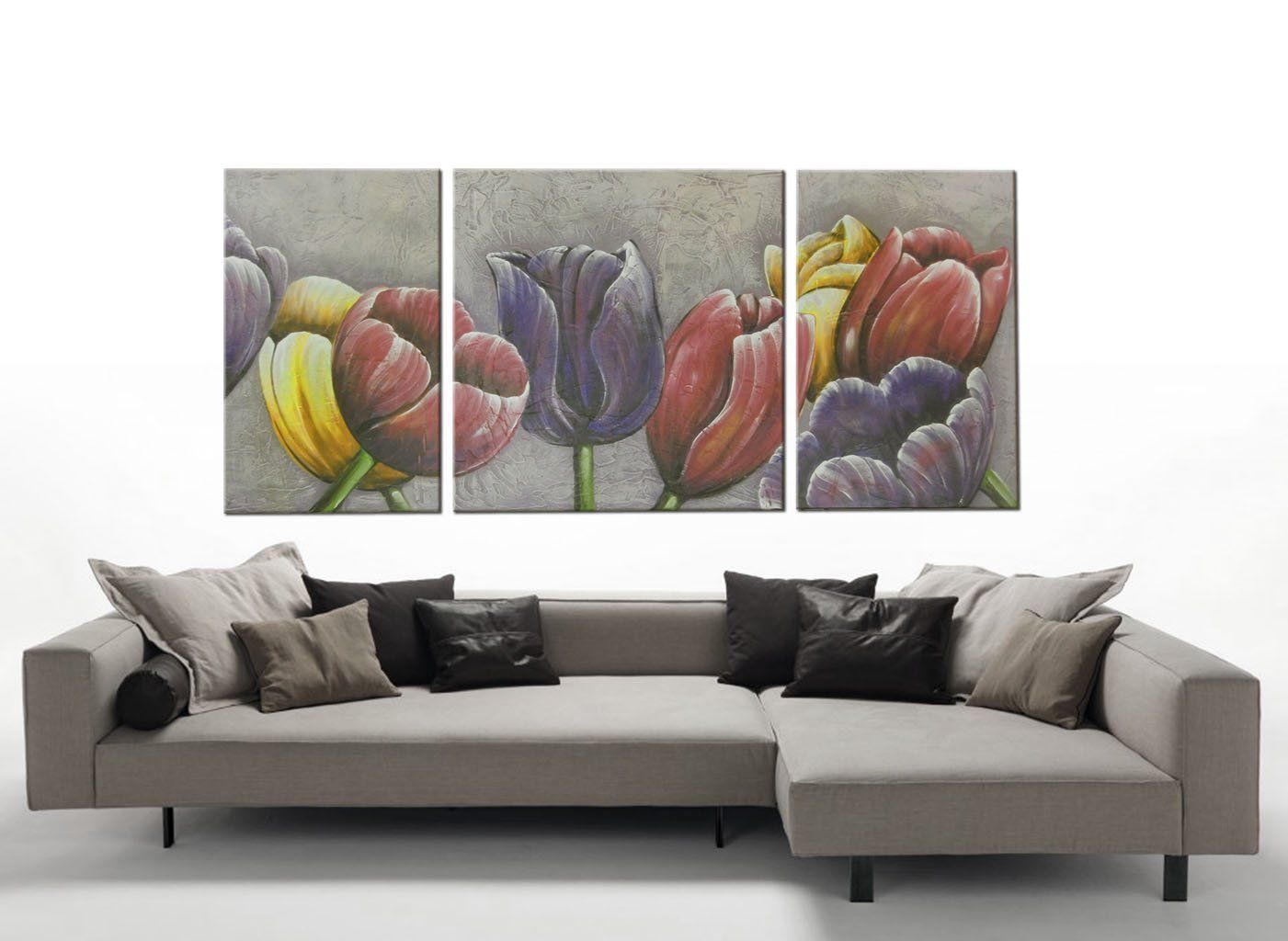 quadri floreali moderni faber arte