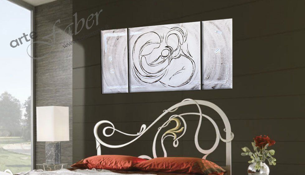 Capezzali moderni astratti | Sacra famiglia stilizzata FaberArte