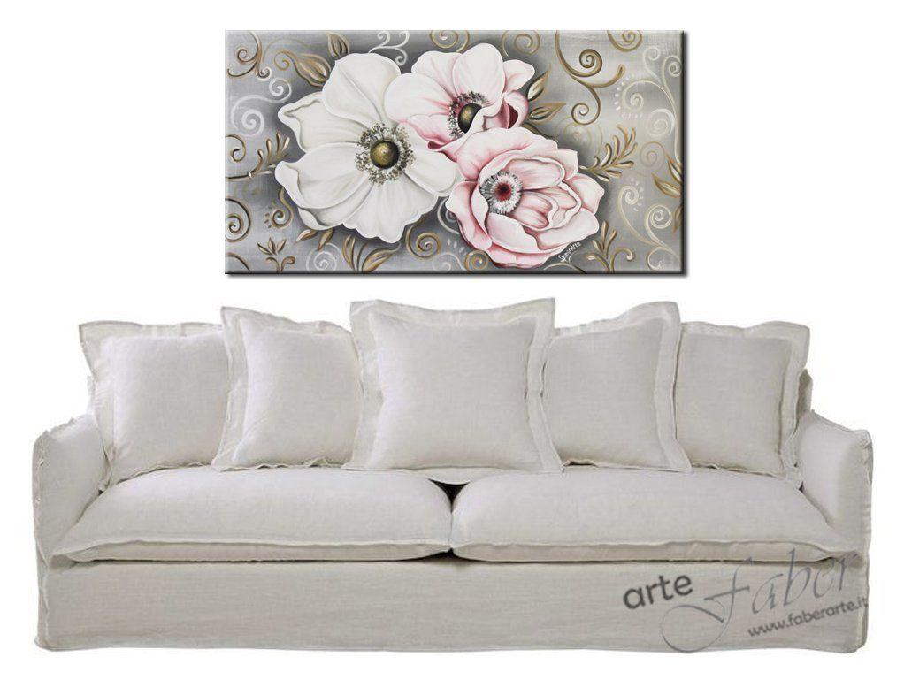 quaddri moderni fiori, quadri dipinti vintage