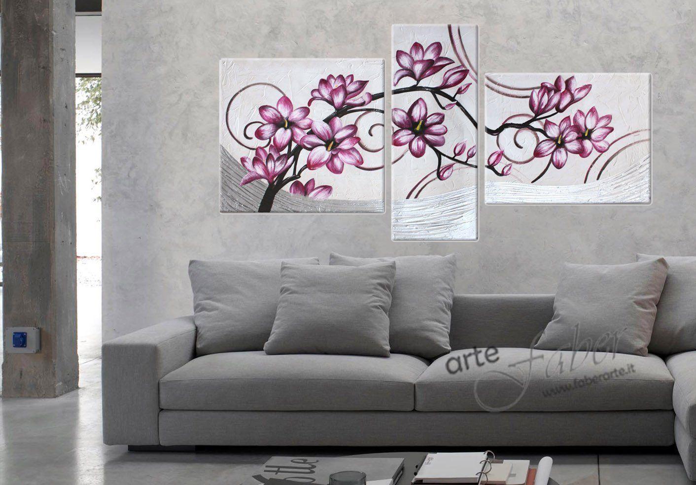 Quadri dipinti floreali vendita quadri moderni - Quadro moderno camera da letto ...