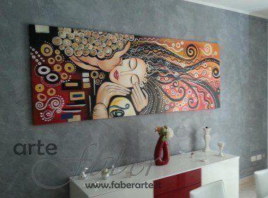 Quadri moderni e astratti dipinti a mano su misura - Quadri arredo casa ...