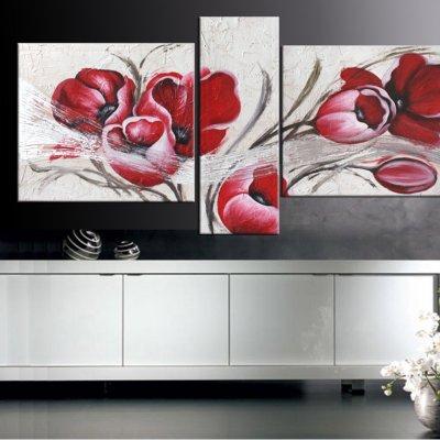 Quadri moderni floreali Tulipani - Faberarte