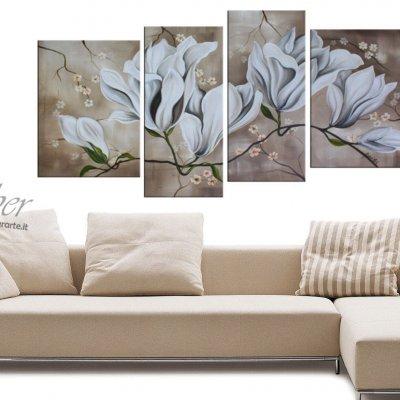 """Quadri moderni """"Ramo di Magnolia"""""""