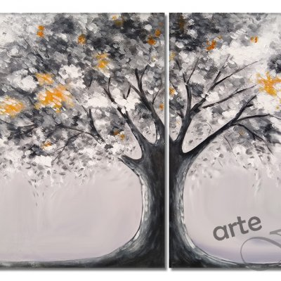 "Quadri moderni astratti contemporanei ""TREE"""