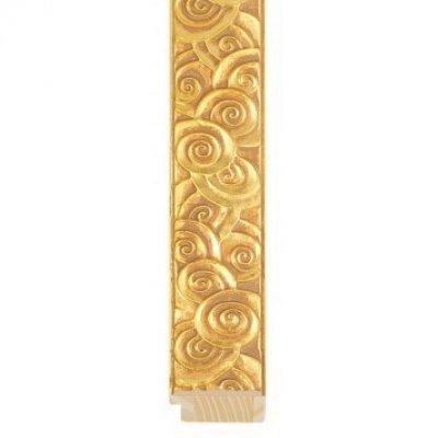 Cornice chiocciole oro