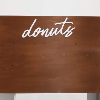Porta Donuts in legno