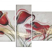 quadri-moderni floreali