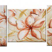 Dipinti floreali a pezzi