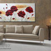 quadri floreali, quadri dipinti moderni, quadri moderni