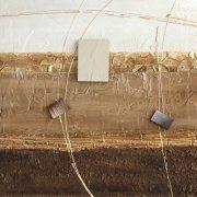 quadri astratti materici dipinti a pezzi