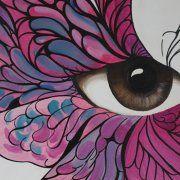 quadri moderni farfalle