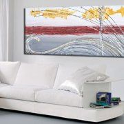 quadri astratti materici dipinti