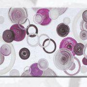 quadri astratti moderni con foglia argento