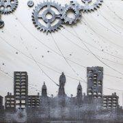 quadri moderni astratti città