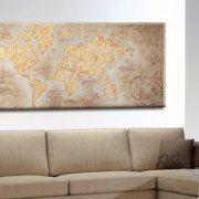 quadri mappamondo moderni