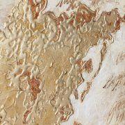 quadro mappamondo figlia oro