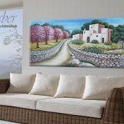 quadri dipinti paesaggi, quadri campagne salentine