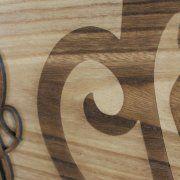 lavorazione laser su legno