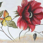 quadri dipinti floreali, quadri fiori, quadri moderni