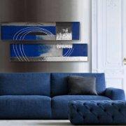 quadri astratti, quadri moderni, quadri astratti blu