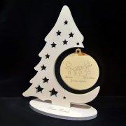 Albero Natale pallina oro