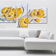 quadri moderni fiori