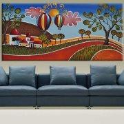 quadri moderni paesaggi