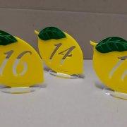 Segnatavolo limone