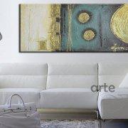 quadri moderni blu