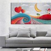 quadro moderno dipinto a mano