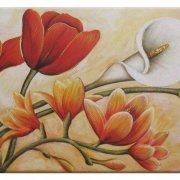 quadro classico dipinto fiori