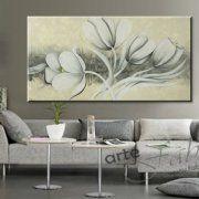 quadri moderni fiori astratti, dipinti moderni