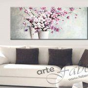 quadri moderni dipinti con fiori